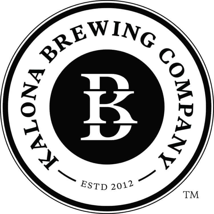 Kalona Brewing Logo Black