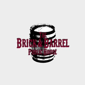 brick logo white outline